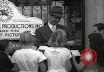 Image of Hollywood Actor give autographs Los Angeles California USA, 1936, second 60 stock footage video 65675032817