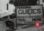Image of Tour service for Hollywood stars homes Hollywood California USA, 1936, second 7 stock footage video 65675032819
