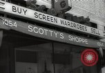 Image of signs Hollywood Los Angeles California USA, 1932, second 8 stock footage video 65675032824