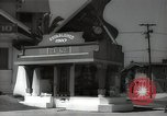 Image of signs Hollywood Los Angeles California USA, 1932, second 36 stock footage video 65675032826