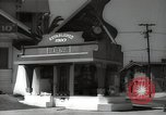 Image of signs Hollywood Los Angeles California USA, 1932, second 37 stock footage video 65675032826