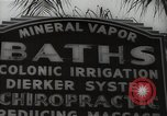 Image of signs Hollywood Los Angeles California USA, 1932, second 51 stock footage video 65675032826
