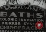 Image of signs Hollywood Los Angeles California USA, 1932, second 52 stock footage video 65675032826