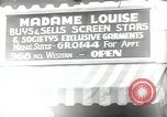 Image of signs Hollywood Los Angeles California USA, 1932, second 55 stock footage video 65675032826