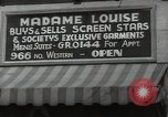 Image of signs Hollywood Los Angeles California USA, 1932, second 59 stock footage video 65675032826