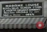 Image of signs Hollywood Los Angeles California USA, 1932, second 60 stock footage video 65675032826