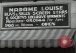 Image of signs Hollywood Los Angeles California USA, 1932, second 62 stock footage video 65675032826