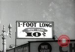 Image of signs Hollywood Los Angeles California USA, 1932, second 1 stock footage video 65675032827