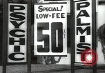 Image of signs Hollywood Los Angeles California USA, 1932, second 43 stock footage video 65675032827