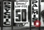 Image of signs Hollywood Los Angeles California USA, 1932, second 44 stock footage video 65675032827