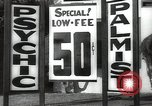Image of signs Hollywood Los Angeles California USA, 1932, second 45 stock footage video 65675032827