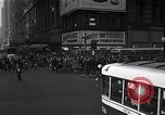 Image of Midtown Manhattan busy street scenes New York City USA, 1948, second 13 stock footage video 65675032835