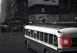Image of Midtown Manhattan busy street scenes New York City USA, 1948, second 15 stock footage video 65675032835