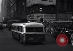 Image of Midtown Manhattan busy street scenes New York City USA, 1948, second 17 stock footage video 65675032835