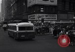 Image of Midtown Manhattan busy street scenes New York City USA, 1948, second 18 stock footage video 65675032835