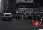 Image of Midtown Manhattan busy street scenes New York City USA, 1948, second 20 stock footage video 65675032835
