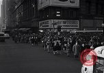 Image of Midtown Manhattan busy street scenes New York City USA, 1948, second 25 stock footage video 65675032835