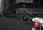 Image of Midtown Manhattan busy street scenes New York City USA, 1948, second 26 stock footage video 65675032835