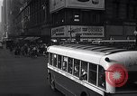 Image of Midtown Manhattan busy street scenes New York City USA, 1948, second 30 stock footage video 65675032835