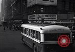 Image of Midtown Manhattan busy street scenes New York City USA, 1948, second 31 stock footage video 65675032835
