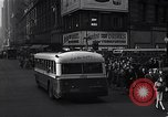 Image of Midtown Manhattan busy street scenes New York City USA, 1948, second 33 stock footage video 65675032835