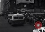 Image of Midtown Manhattan busy street scenes New York City USA, 1948, second 34 stock footage video 65675032835