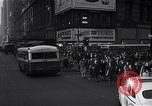 Image of Midtown Manhattan busy street scenes New York City USA, 1948, second 36 stock footage video 65675032835