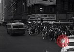 Image of Midtown Manhattan busy street scenes New York City USA, 1948, second 37 stock footage video 65675032835