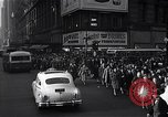 Image of Midtown Manhattan busy street scenes New York City USA, 1948, second 40 stock footage video 65675032835