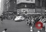 Image of Midtown Manhattan busy street scenes New York City USA, 1948, second 44 stock footage video 65675032835
