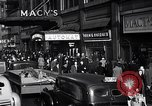 Image of Midtown Manhattan busy street scenes New York City USA, 1948, second 45 stock footage video 65675032835