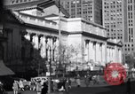 Image of fifth avenue New York City USA, 1948, second 4 stock footage video 65675032837