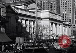 Image of fifth avenue New York City USA, 1948, second 13 stock footage video 65675032837