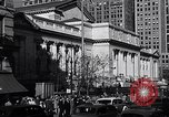 Image of fifth avenue New York City USA, 1948, second 15 stock footage video 65675032837
