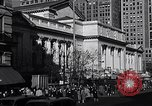 Image of fifth avenue New York City USA, 1948, second 18 stock footage video 65675032837