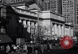 Image of fifth avenue New York City USA, 1948, second 20 stock footage video 65675032837
