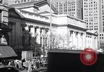 Image of fifth avenue New York City USA, 1948, second 26 stock footage video 65675032837