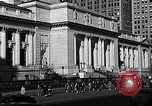 Image of fifth avenue New York City USA, 1948, second 27 stock footage video 65675032837