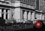 Image of fifth avenue New York City USA, 1948, second 32 stock footage video 65675032837
