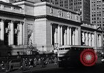 Image of fifth avenue New York City USA, 1948, second 33 stock footage video 65675032837
