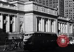 Image of fifth avenue New York City USA, 1948, second 34 stock footage video 65675032837