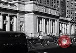 Image of fifth avenue New York City USA, 1948, second 36 stock footage video 65675032837