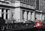 Image of fifth avenue New York City USA, 1948, second 37 stock footage video 65675032837