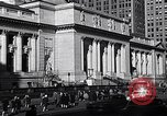 Image of fifth avenue New York City USA, 1948, second 50 stock footage video 65675032837