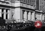 Image of fifth avenue New York City USA, 1948, second 52 stock footage video 65675032837