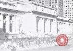Image of fifth avenue New York City USA, 1948, second 53 stock footage video 65675032837