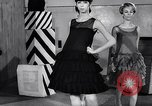 Image of designer wear Paris France, 1966, second 33 stock footage video 65675032844