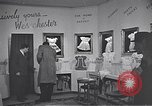 Image of trade exhibition after World War 2 Scotland United Kingdom, 1950, second 6 stock footage video 65675032850
