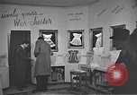 Image of trade exhibition after World War 2 Scotland United Kingdom, 1950, second 7 stock footage video 65675032850