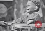 Image of trade exhibition after World War 2 Scotland United Kingdom, 1950, second 19 stock footage video 65675032850
